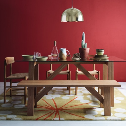 Amos Dining Table Set from Habitat