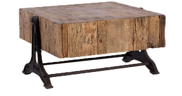 Reclaimed coffee table from Barker and Stonehouse