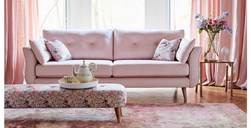 Ella the pink sofa from DFS