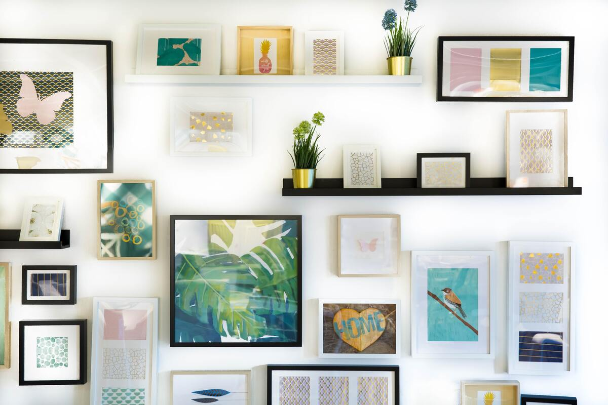 Wall Frames on the Wall